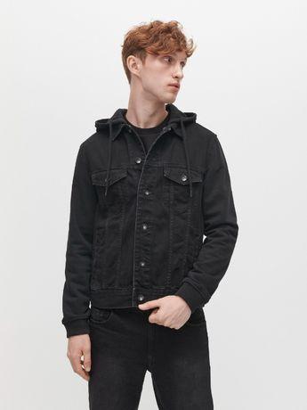 Джинсовая куртка с капюшоном Pull&Bear/S