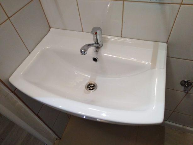 Zlew umywalka ceramiczna Cersanit 60 cm
