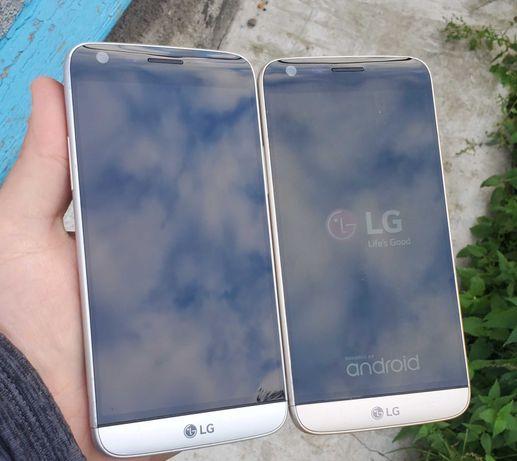Б/у silver/gold LG G5 (VS987) neverlock (32/4гб) стан 9/10 (3/4g)