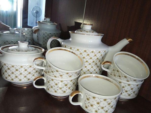 Чайный сервиз СССР, заварник, сахарница, отличное, без дефектов