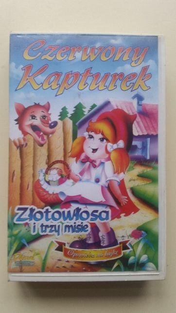 Kaseta VHS Czerwony Kapturek
