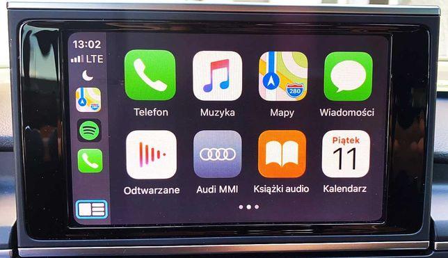 Audi VW Skoda Seat Aktywacja CarPlay AndroidAuto Nawigacja
