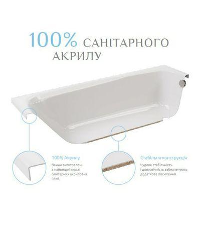 Продам нову ванну RADAWAY MIRELLA