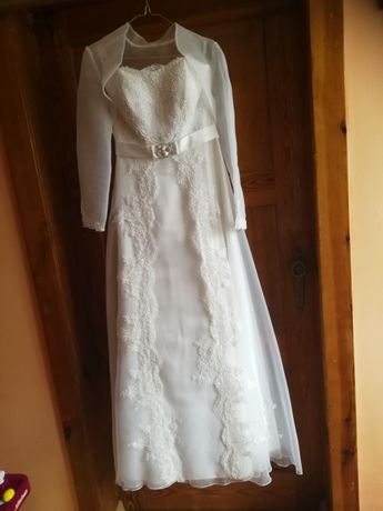 Suknia ślubna rozmiar 38 wzrost 168