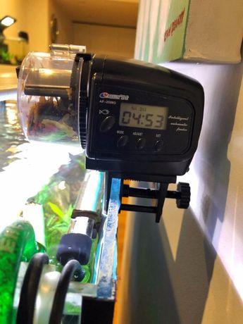 Программируемая электронная автокормушка для рыб с экраном