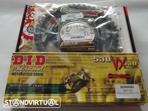 Kit Transmissao corrente DID VX X-Ring Honda CBR 1100 XX de 1997 a 2007