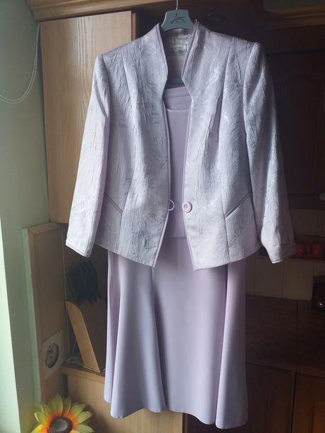 Zestaw 3 częściowy żakiet+sukienka+bluzka