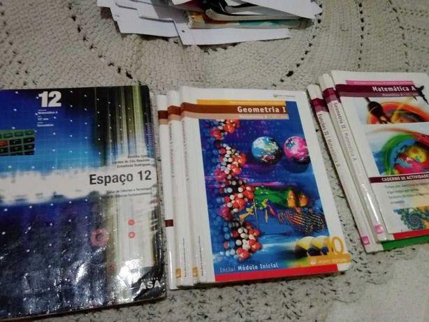 Livros Matemática 10º, 11º e 12º