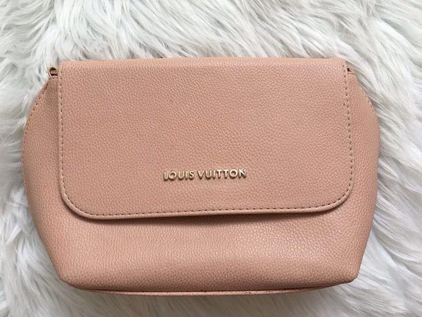 Сумка клатч нежно-розовая(Louis Vuitton)