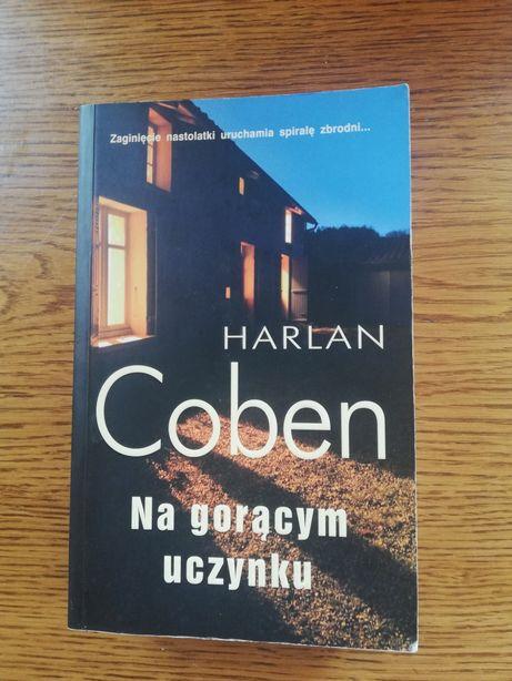 """Książka """"Na gorącym uczynku"""" Harlan Coben"""