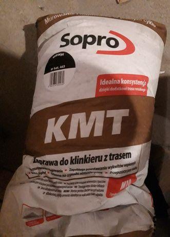 SOPRO Zaprawa do klinkieru z trasem KMT Antracyt numer 443 25kg