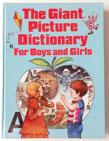 Książka, angielski The Giant Picture Dictionary For Boys and Girls