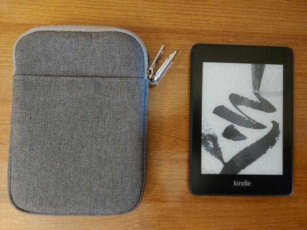 Kindle Paperwhite 4 (versão sem anúncios) + Bolsa de transporte