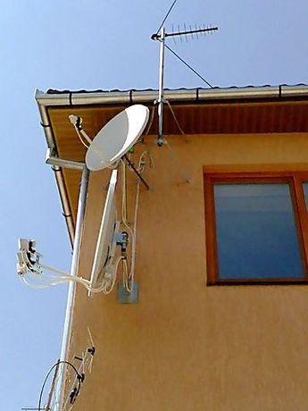 СпутниковоеТВ,Viasat, Xtratv, Т2.Установка, продажа и ремонт.