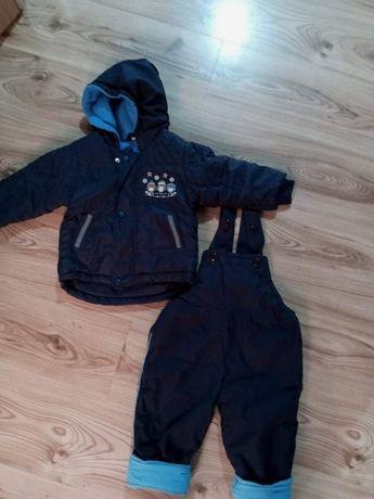 Kurtka + spodnie zimowe komplet kombinezon