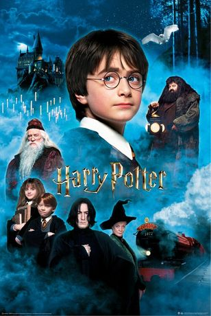 Posters novos Harry Potter And The Sorcerers Stone