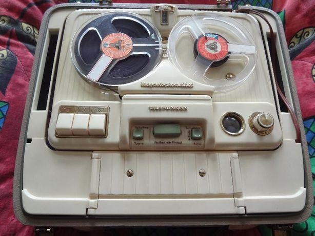 TELEFUNKEN KL 65/KX z lat 50-tych magnetofon szpulowy