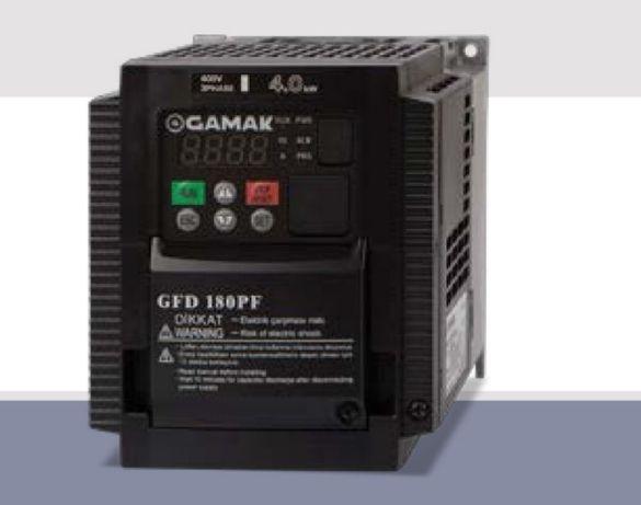 Falownik 1,5 2,2 3 kW 1-fazowy 230V Gamak GFD 112 jak Hitachi NES-1