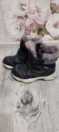 Ботинки кожа .зима 19см