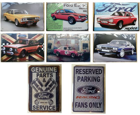 Placas/Placa Decorativas/Decorativa Ford Escort | Cortina | Capri