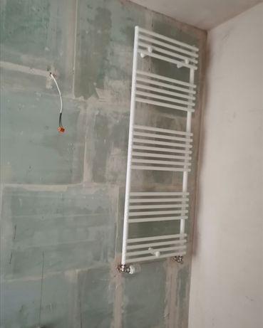 Grzejnik łazienkowy aluminiowy