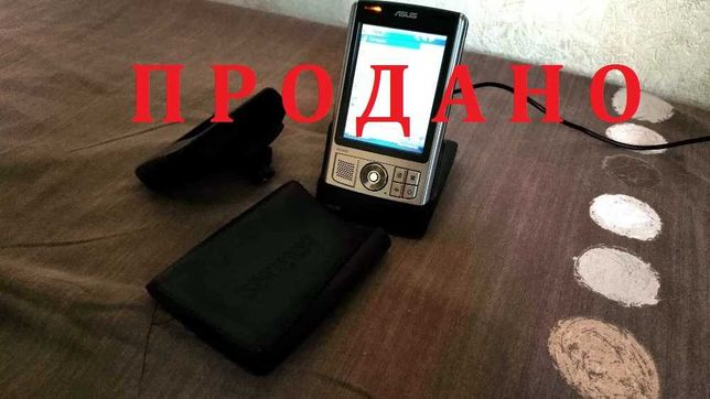 GPS навигатор КПК ASUS MyPal A639 (б/у, рабочий, состояние нормальное