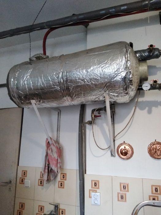Bojler elektryczny z wężownicą 140 L