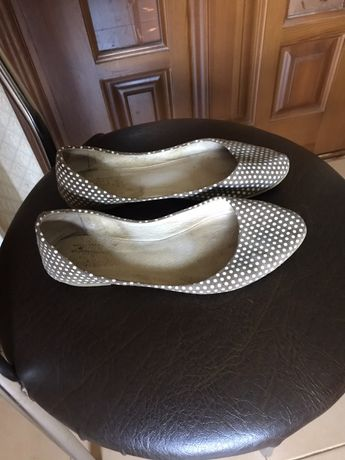 туфли балетки кожа размер 36