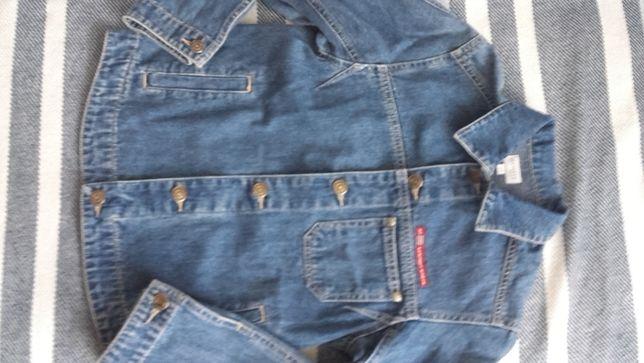 Kurtka jeans uniwersalna 134-140cm