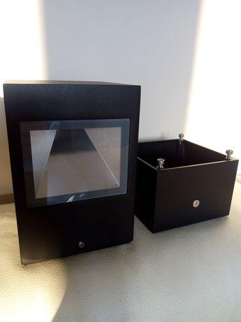Lampa zewnętrzna czarna Leo 120 firmy ares z cokołem 20 szt nowa