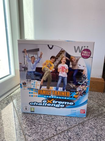 Family Challenge Extreme Jogo Wii + Tapete