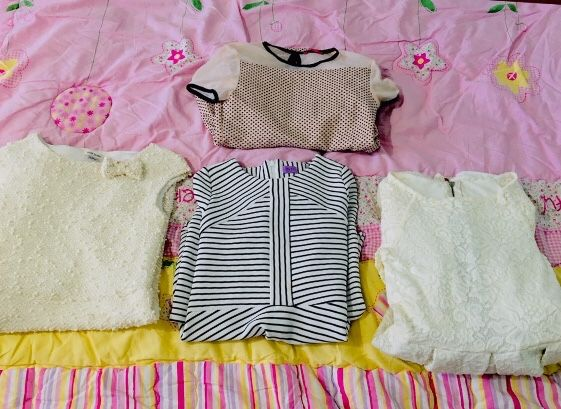 Zestaw 4 Sukienek