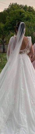 Vestido de noiva tamanho s/m (usado)
