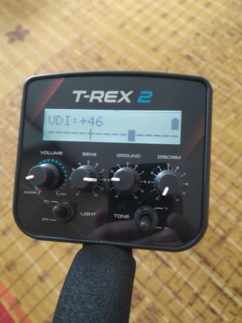 Металлоискатель T-REX 2 Turbo. Металошукач, металлодетектор с VDI