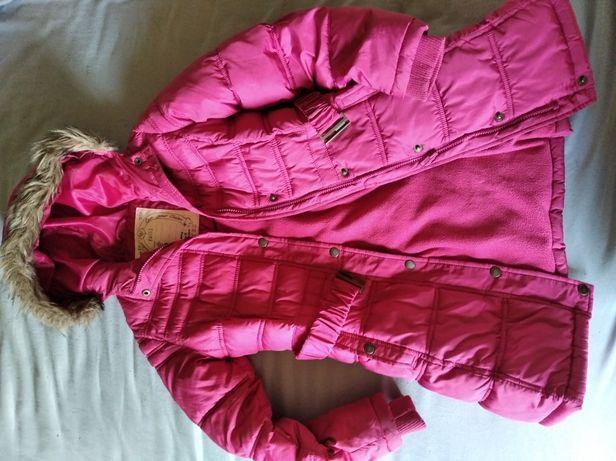 Kurtka zimowa dla dziewczynki 10-12 lat
