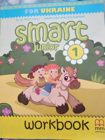 Англійська  Smart junior. Workbook