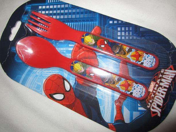 Набор Ложечка и Вилка Спайдермен Spiderman Франция