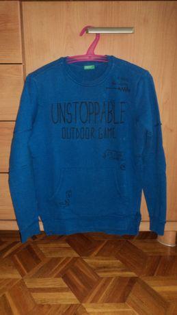 Benetton bluza 150 cm kangurka