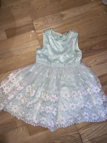 Платье нарядное сарафан принцессы балерины Бальные принцесса снежинка