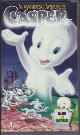 As Assombrosas Aventuras de Casper - VHS