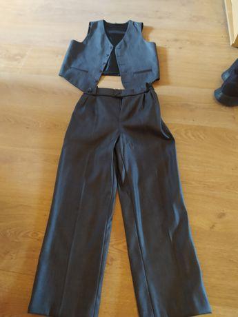 Kamizelka dziecięca + spodnie rozm.136