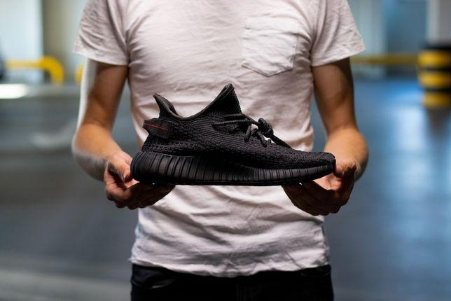 Кроссовки Adidas Yeezy Boost 350 V2 Black скидка мужские адидас буст