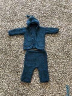 Детский шерстяной костюмчик на мальчика