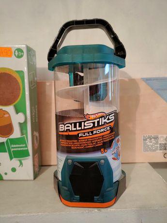 Nowy Hot wheels Ballistiks Full force magazynek na 12 autokul