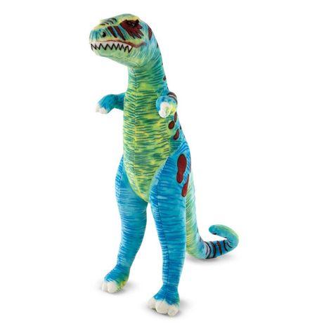 Wielki, kolorowy pluszowy dinozaur Melissa 18266
