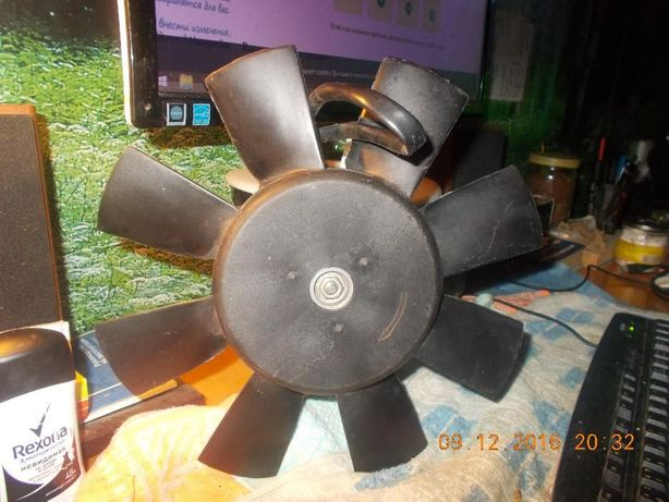 Электровентилятор охлаждения радиатора ВАЗ 2108 ВАЗ 2109