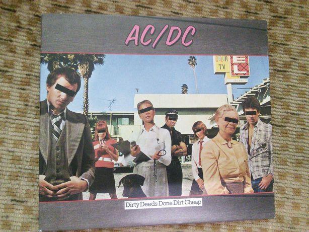 AC/DC Dirty Deeds Done Dirt Cheap COMO NOVO