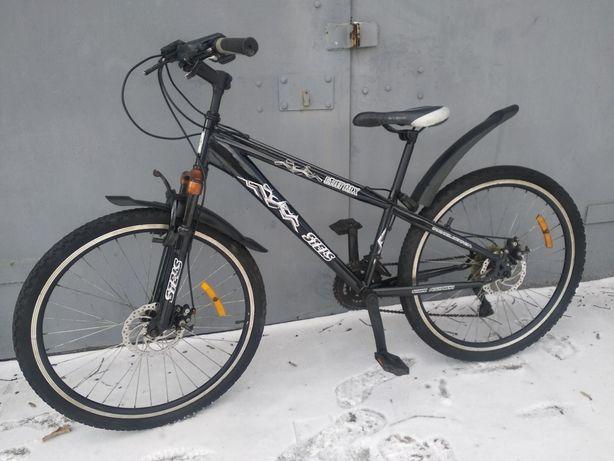 Stels, взрослый скоростной велосипед диаметр колеса 26 д