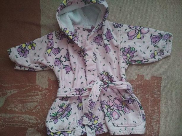 Дитячий халатик для дівчинки на 3-4 роки