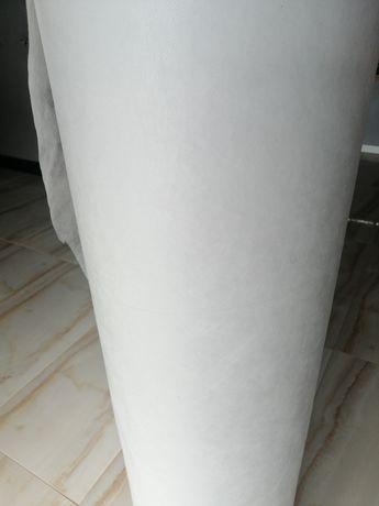 Flizelina włóknina 35g/m2 cała rolka 420m bieżących 1,6m na maseczki